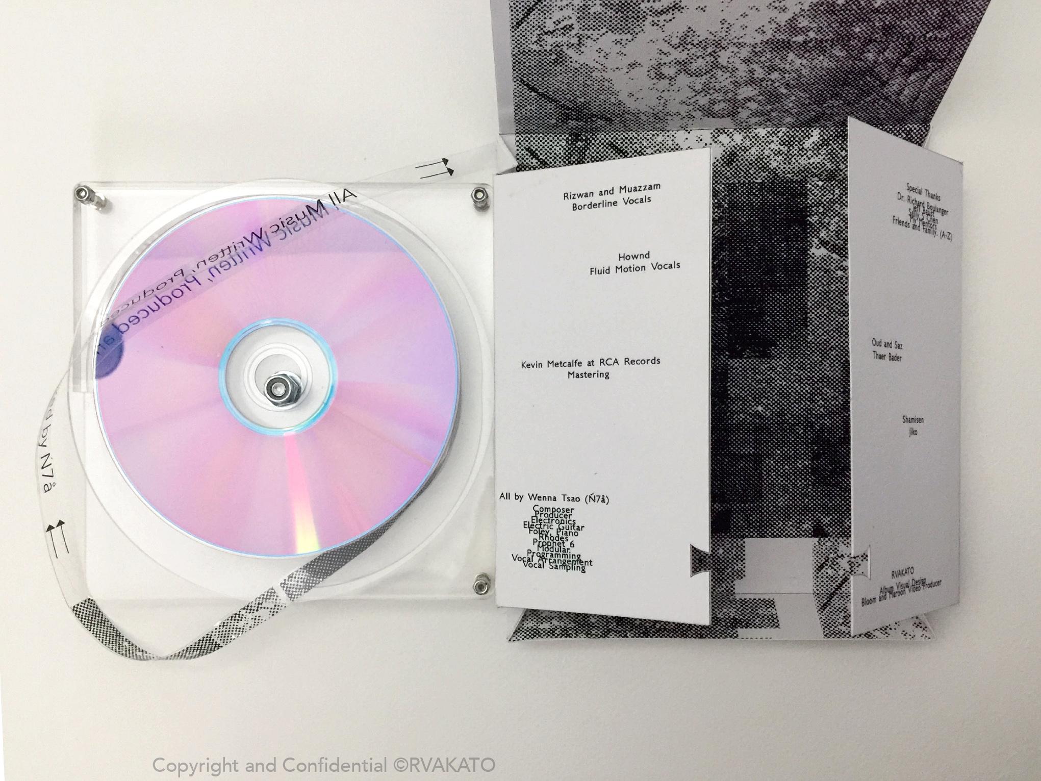 派樂黛唱片極力推薦 電音新星Ń7ä首張全創作概念專輯《Panorama》 4