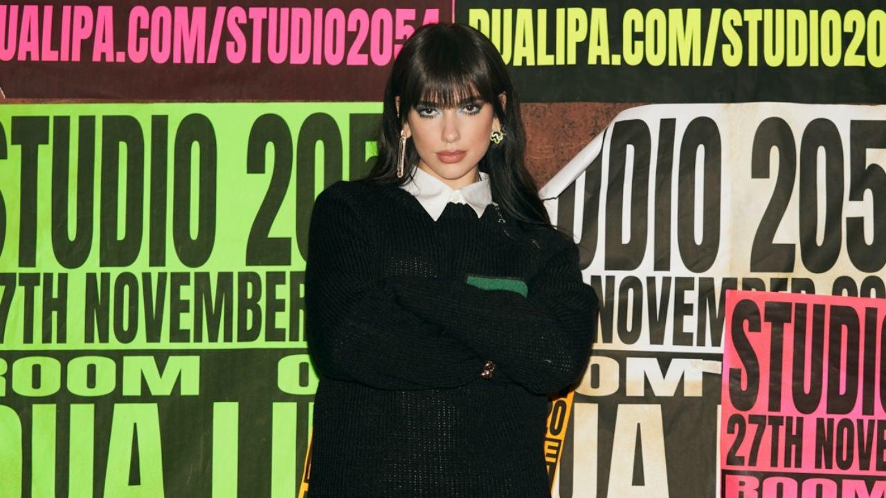 「危險系繆思女神」Dua Lipa 全新概念 「STUDIO 2054」力邀 Elton John、FKA Twigs、 Kylie Minogue 助拳演出! 4